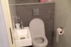 Nieuw toilet